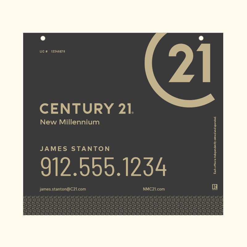 Century 21® Hanging Sign Panels-22X24HA_DES2B_200