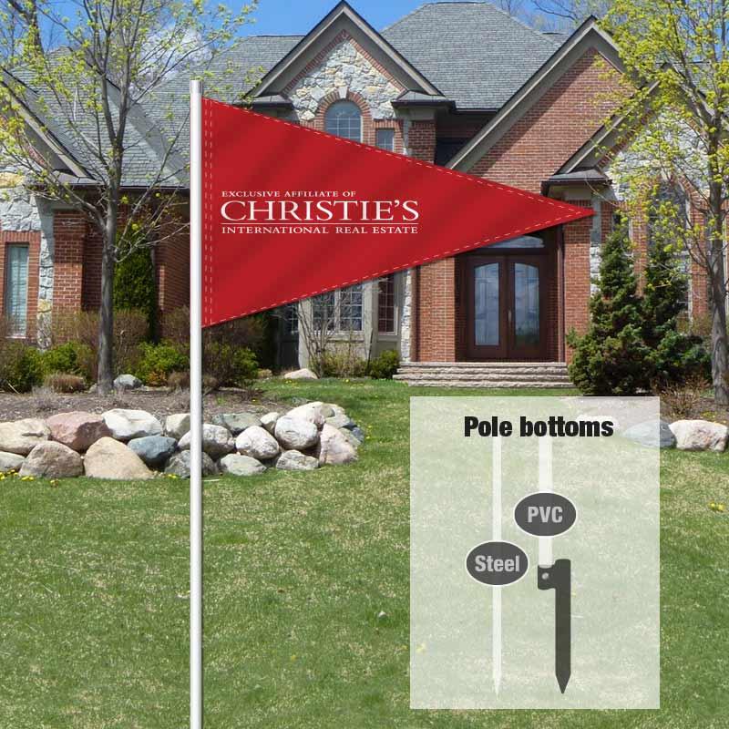 Independent Real Estate Pennant Flag-CHRST001_FLG_7