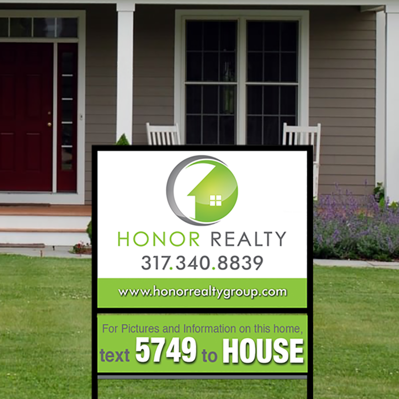 Independent Real Estate Signs & Frames-IND204