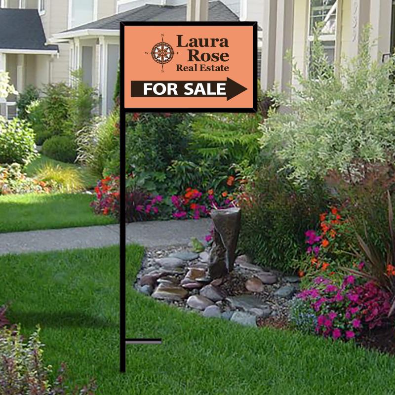 Independent Real Estate Open House & Directional Signs-IND240