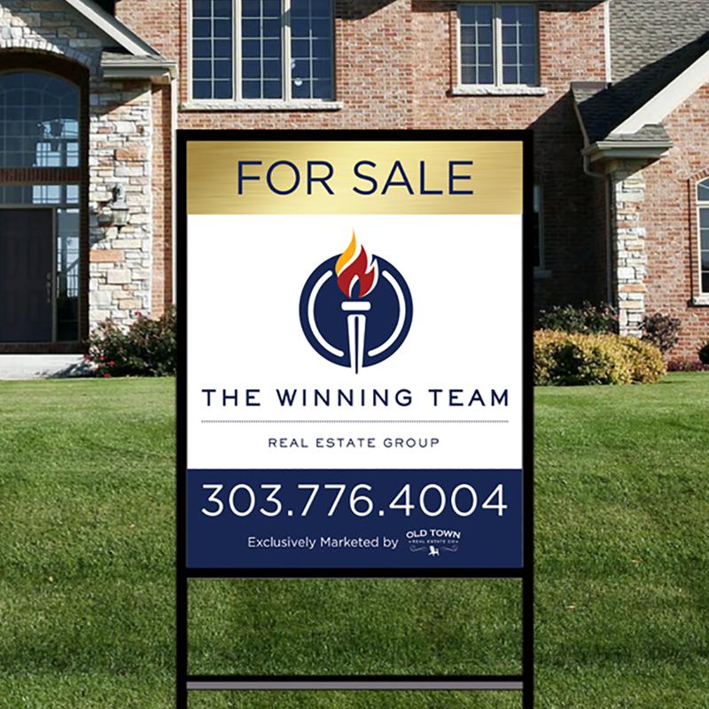 Independent Real Estate Signs & Frames-IND252