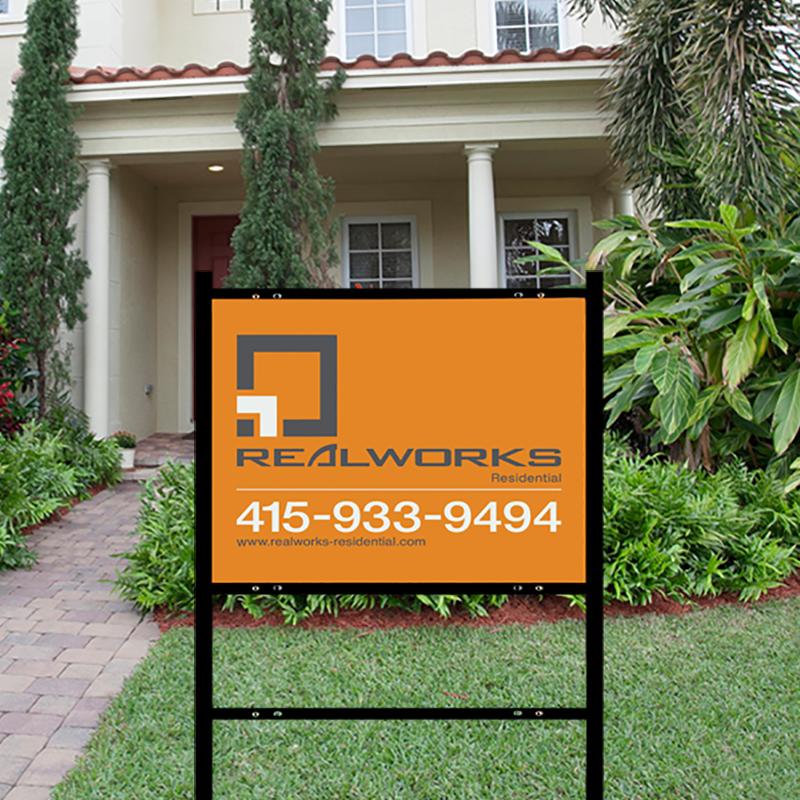 Independent Real Estate Signs & Frames-INDA07