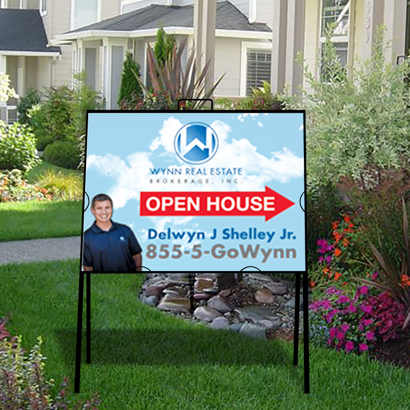 Independent Real Estate Open House & Directional Signs-INDA218