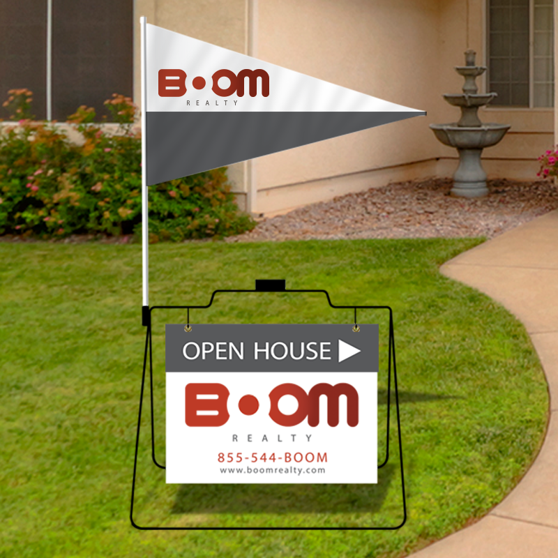 Independent Real Estate Open House & Directional Signs-MSFS_7
