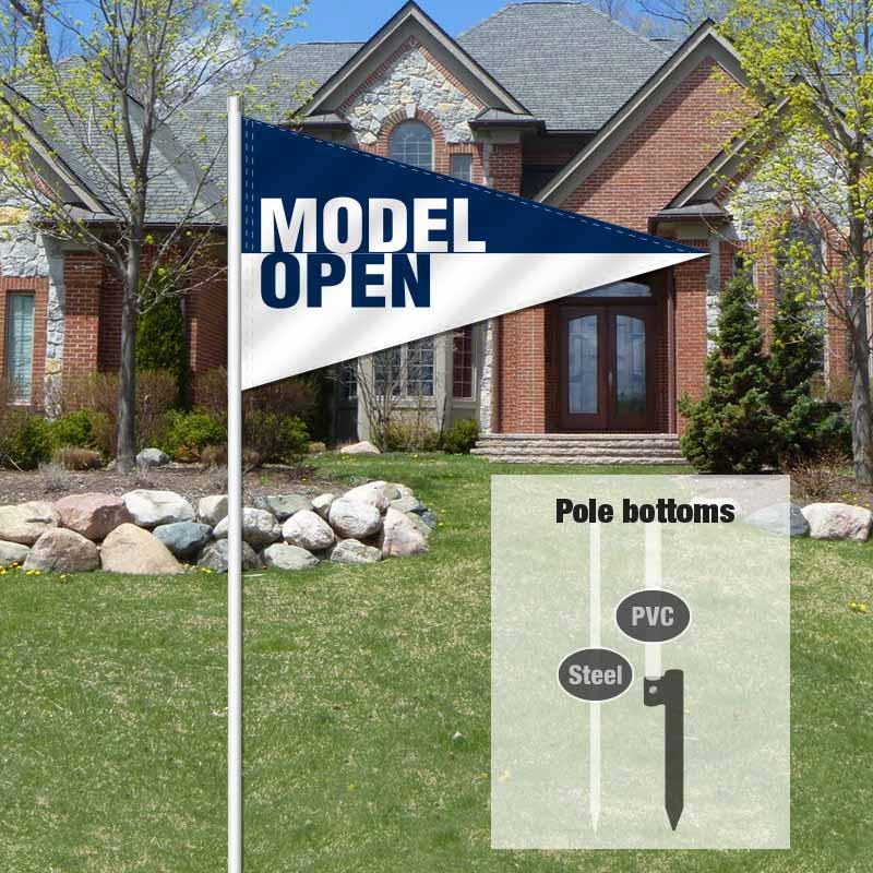 Builders & Contractors Signs Pennant Flag-MODELOPN_FLG_8
