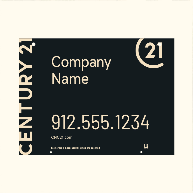 Century 21® Hanging Sign Panels-18X24HO_DES1BHC_200