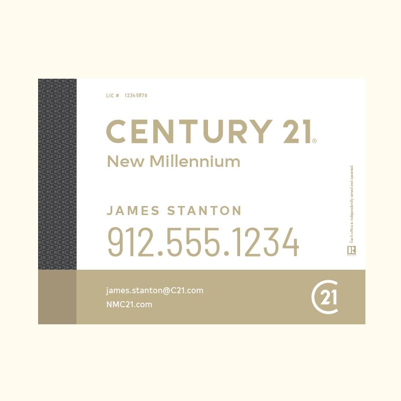 Century 21® Hanging Sign Panels-18X24RA_DES3W_200