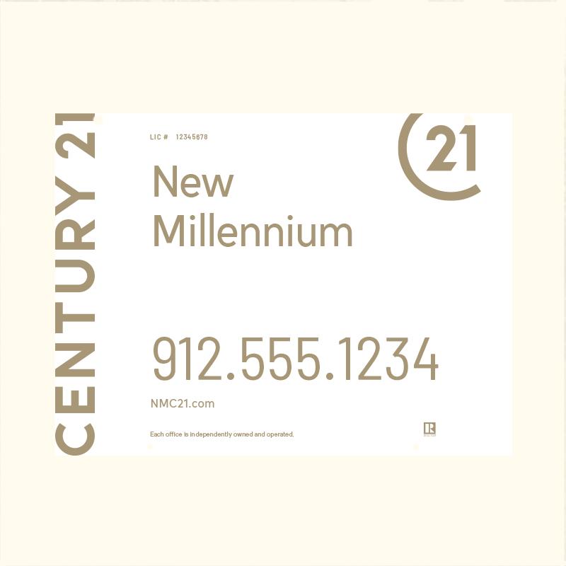 Century 21® Hanging Sign Panels-18X24RO_DES1W_200