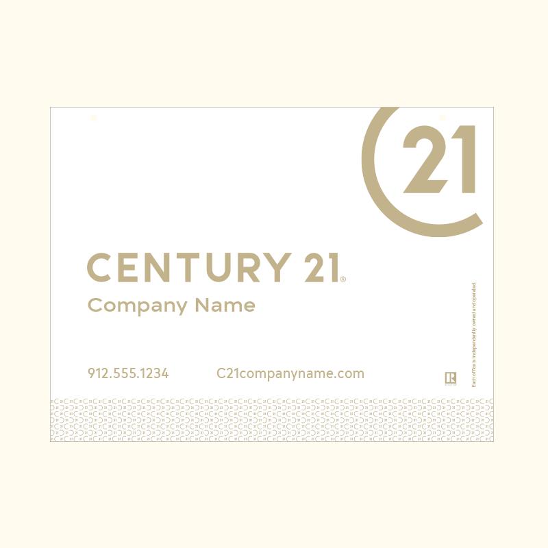Century 21® Hanging Sign Panels-18X24RO_DES2WP_200