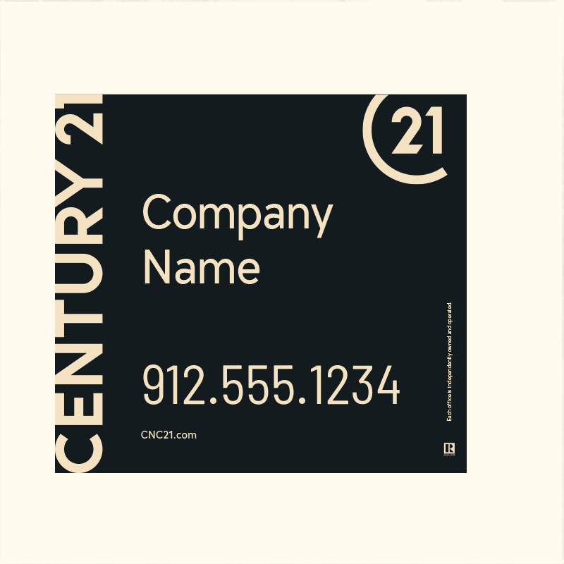 Century 21® Hanging Sign Panels-22X24RO_DES1BHC_200