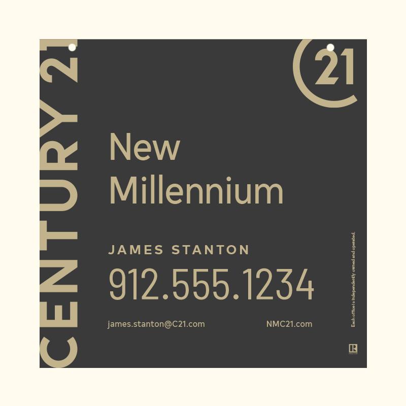 Century 21® Hanging Sign Panels-24X24HA_DES1B_200