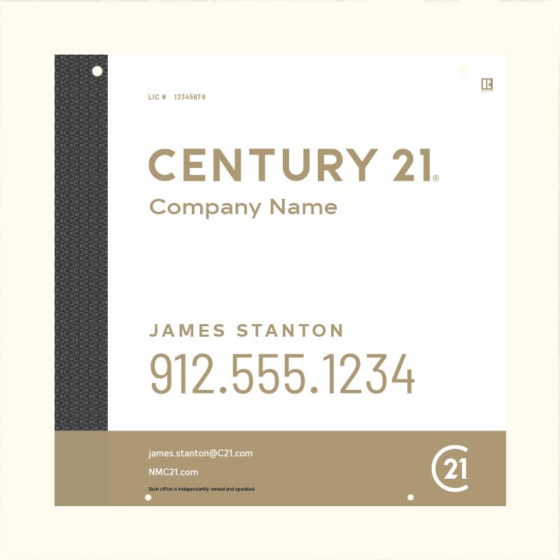 Century 21® Hanging Sign Panels-24X24HA_DES3W_200