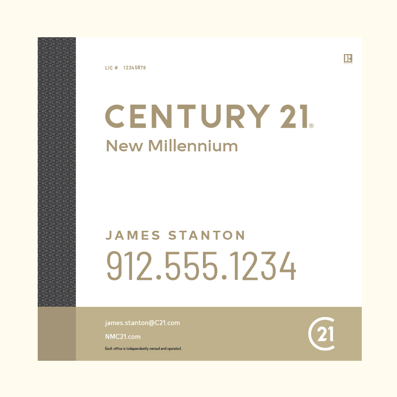 Century 21® Hanging Sign Panels-24X24RA_DES3W_200