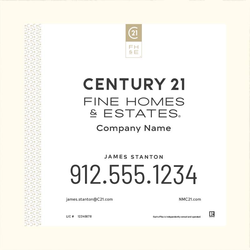 Century 21® Hanging Sign Panels-24X24_FHE_AGT1_200