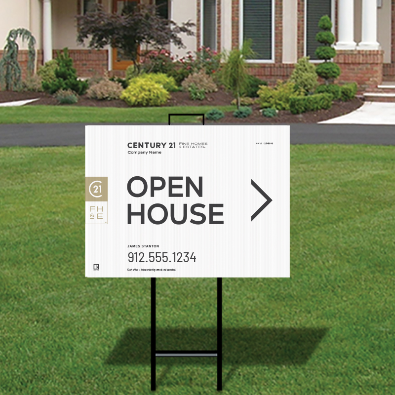 Century 21® Open House & Directional Signs-292_FHE_200
