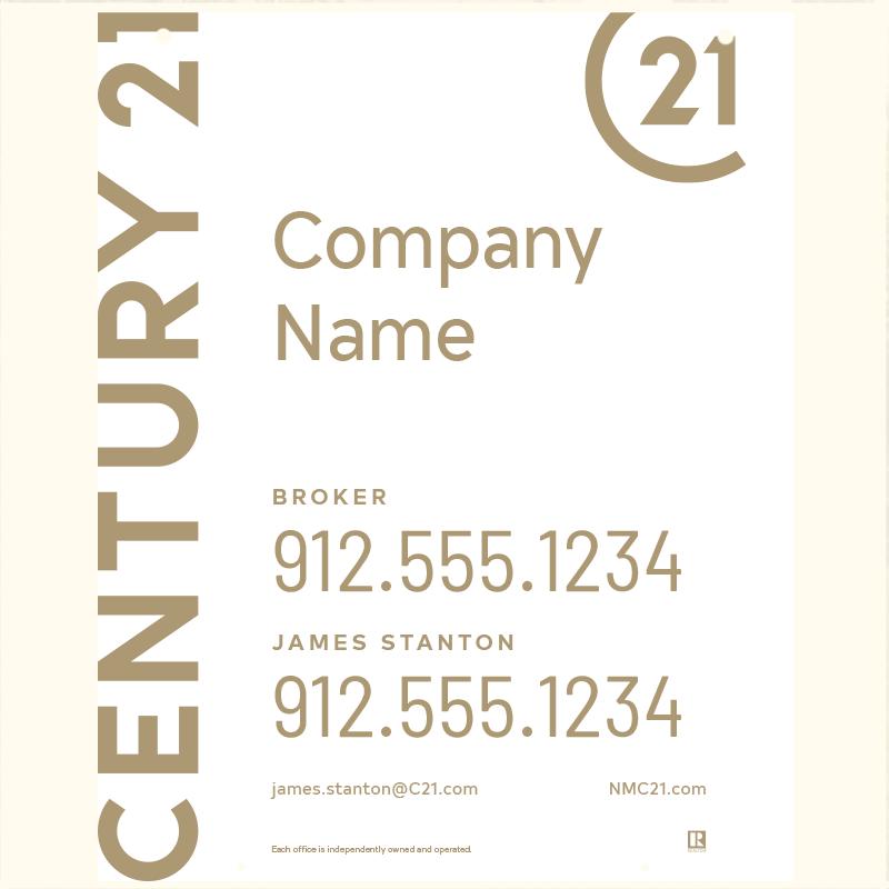 Century 21® Hanging Sign Panels-30X24HA_DES1WP2_200