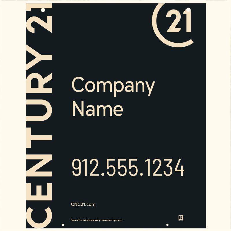 Century 21® Hanging Sign Panels-30X24HO_DES1BHC_200