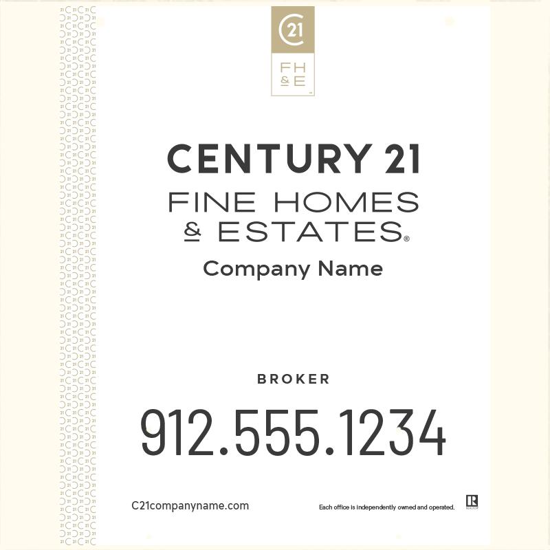 Century 21® Hanging Sign Panels-30X24H_FHE_BRK1_200