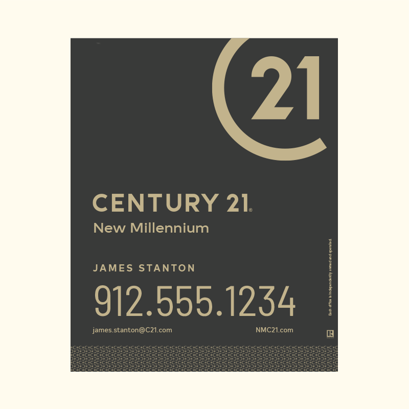 Century 21® Hanging Sign Panels-30X24RA_DES2B_200