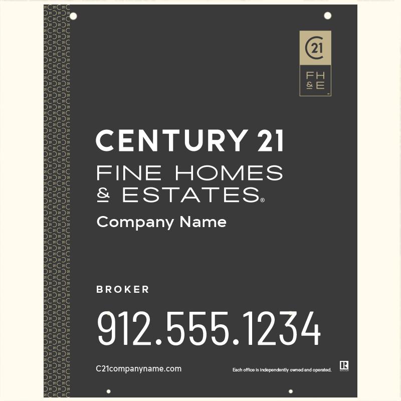 Century 21® Hanging Sign Panels-30X24_FHE_BRK2_200