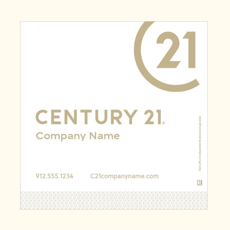 Century 21® Hanging Sign Panels-24X24HO_DES2WP_200