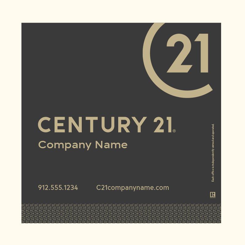 Century 21® Hanging Sign Panels-24X24RO_DES2BP_200