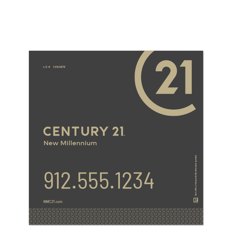 Century 21® Hanging Sign Panels-24X24RO_DES2B_200