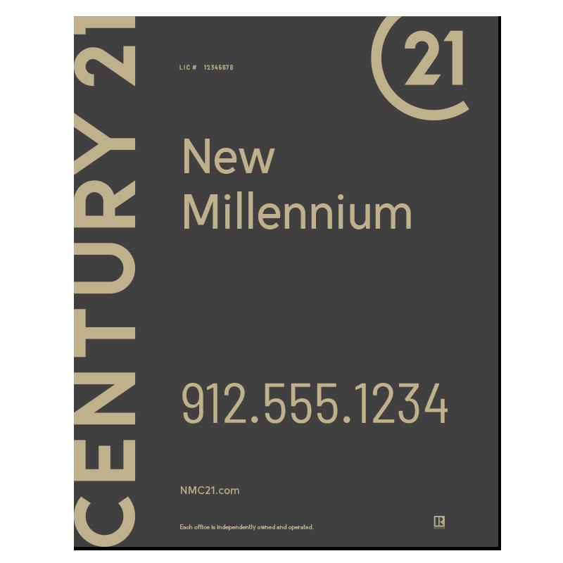 Century 21® Hanging Sign Panels-30X24RO_DES1B_200