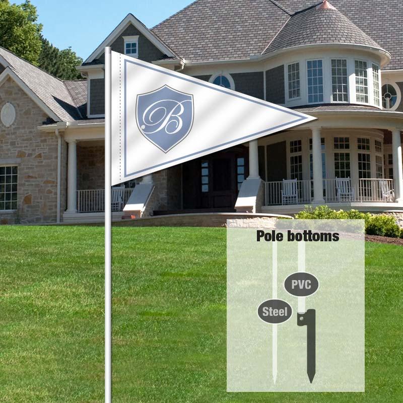 Independent Real Estate Pennant Flag-BEACHAM1_7