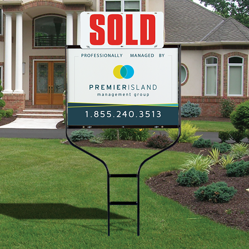 Independent Real Estate Signs & Frames-IND007