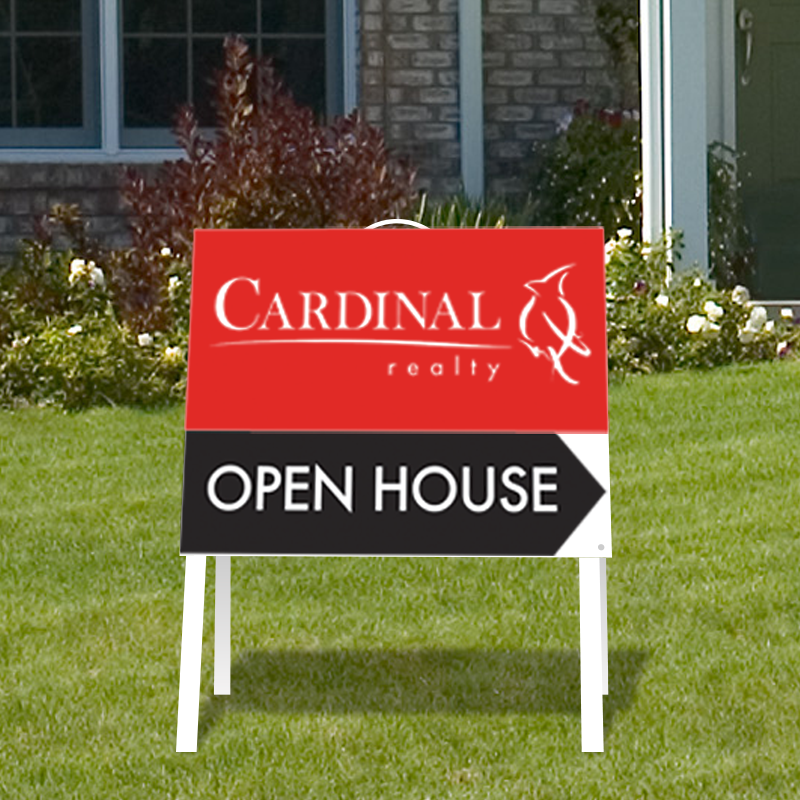 Independent Real Estate Open House & Directional Signs-INDA_224