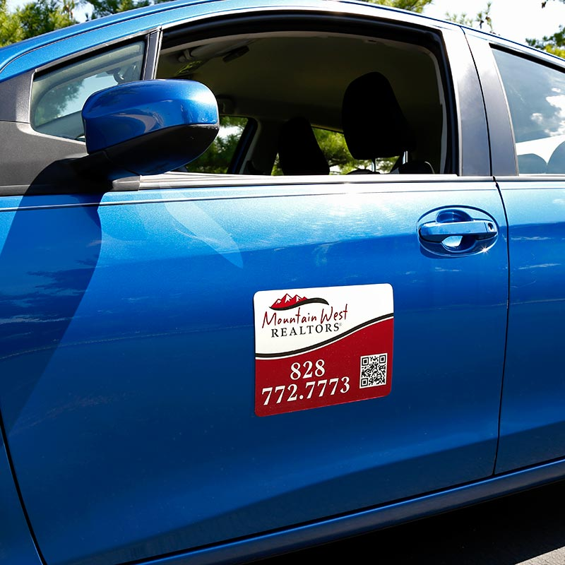 Independent Real Estate Magnetic Car Signs-INDMAG9X12