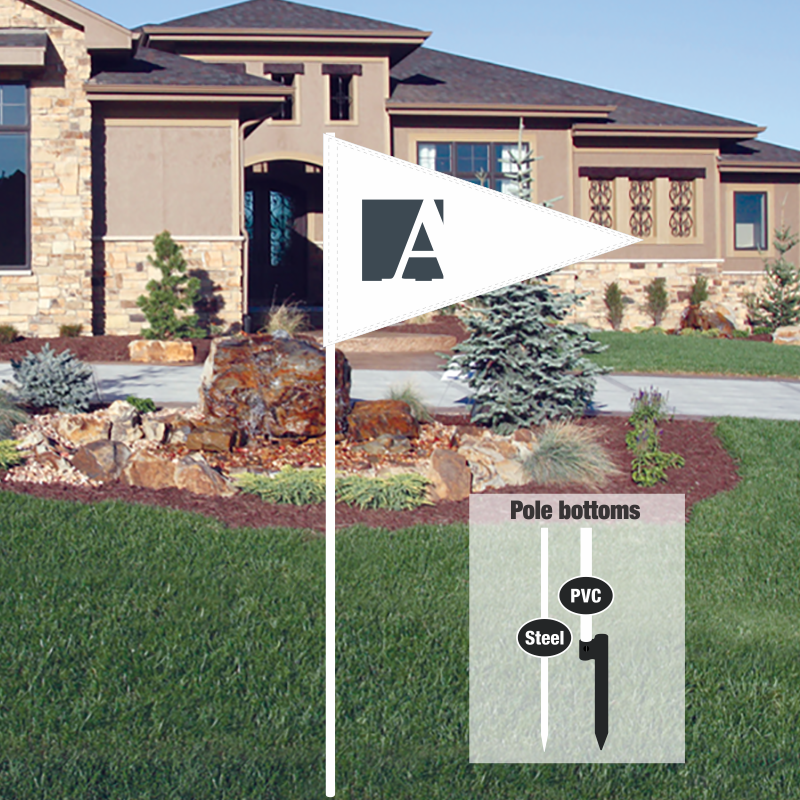 Independent Real Estate Pennant Flag-JAG00003_FLG_7