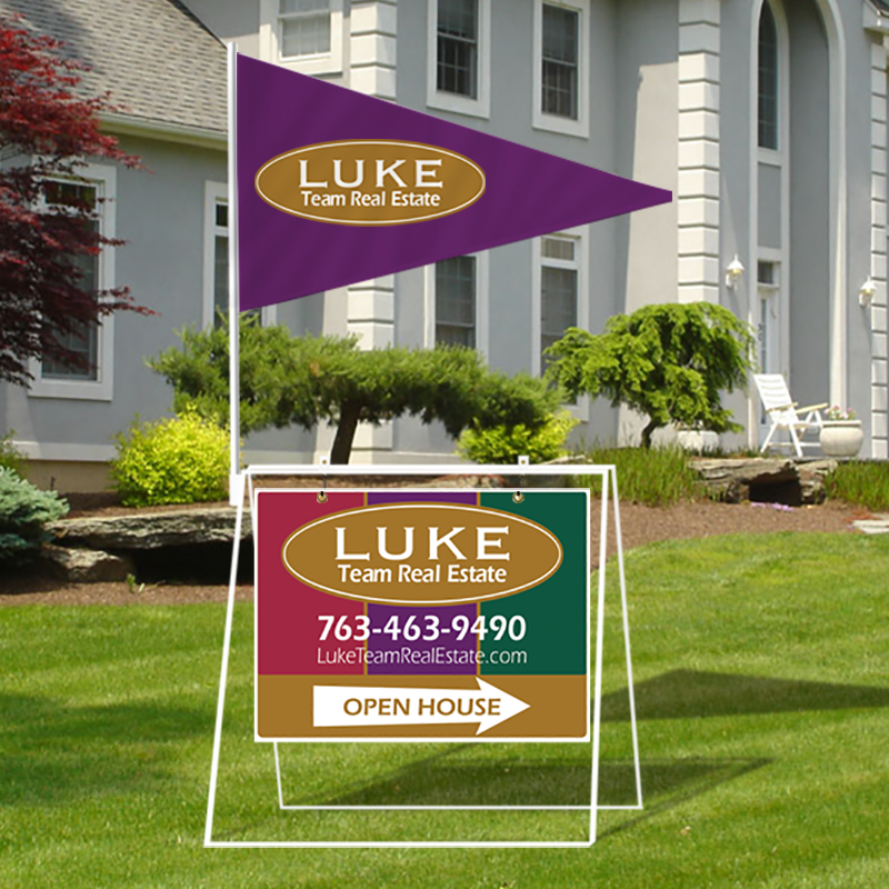 Independent Real Estate Open House & Directional Signs-MA30_18X24_7