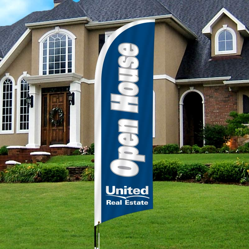 Independent Real Estate Feather Flags-UR1FF_7