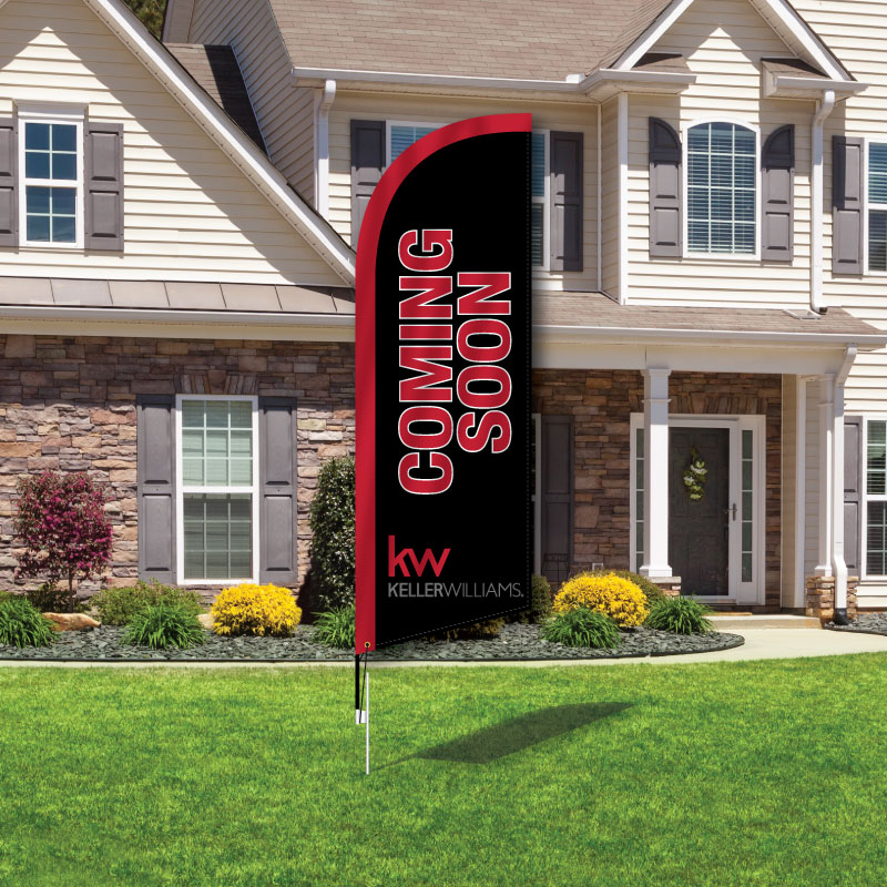 Keller Williams Realty Feather Flags-KWCSF_FF_93