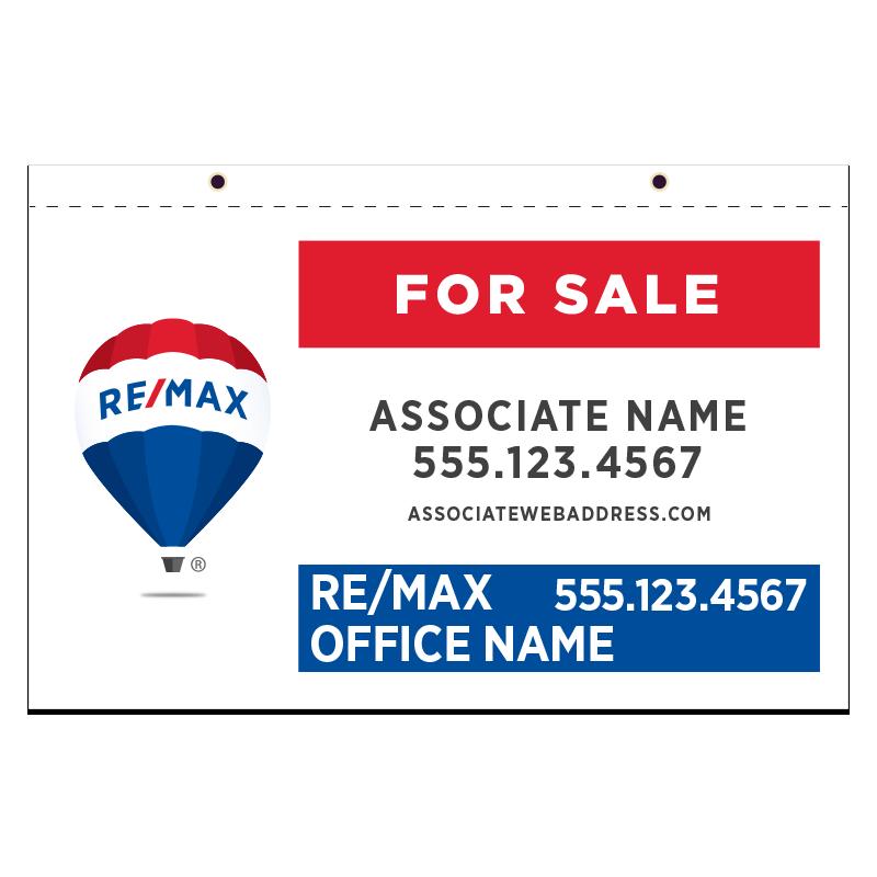 REMAX Hanging Sign Panels-21X36_P_HS_H_187