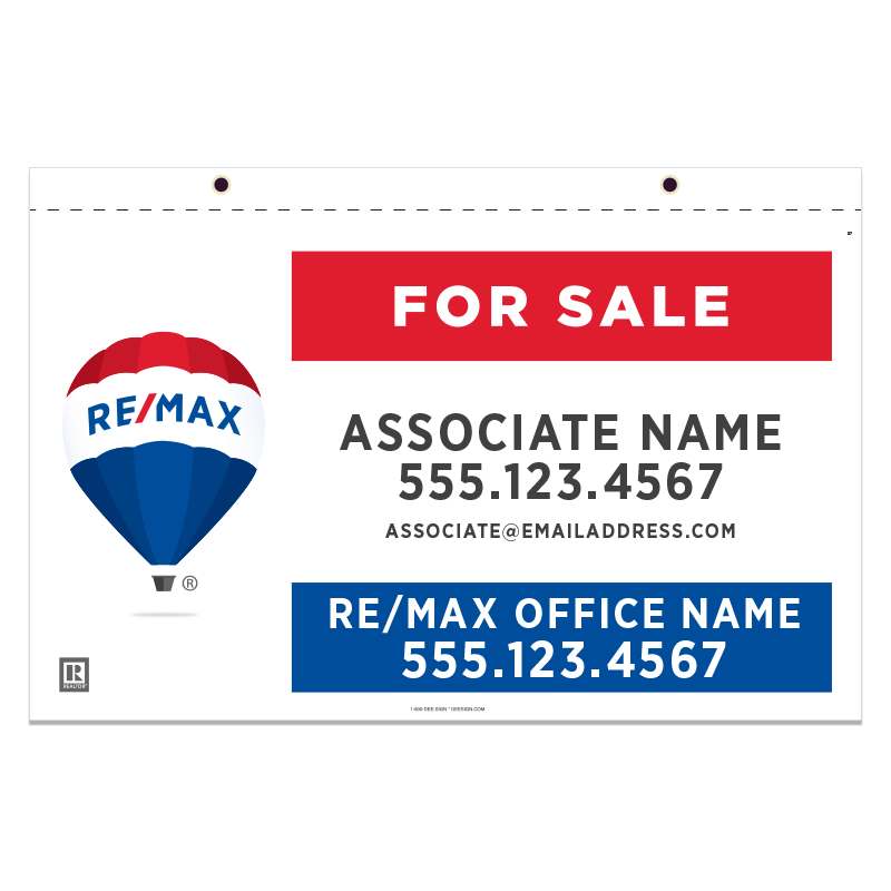 REMAX Hanging Sign Panels-21X36_S_HS_H_187