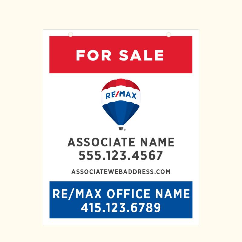 REMAX Hanging Sign Panels-30X24_APRM1_H_187