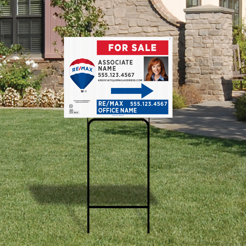 REMAX Open House & Directional Signs-H30H_18X24_187