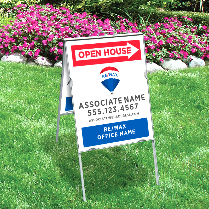 REMAX Open House & Directional Signs-V-218_24X18_187