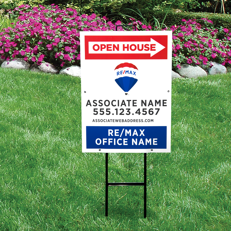 REMAX Open House & Directional Signs-V292_24X18_187
